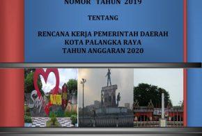 RKPD KOTA PALANGKA RAYA TAHUN 2020