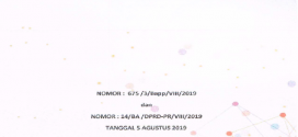 PROIRITAS DAN PLAFON ANGGARAN TAHUN ANGGARAN 2020