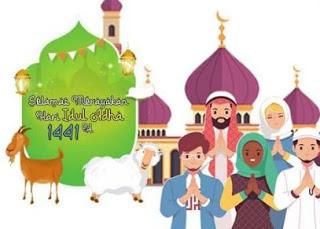 Bappedalitbang Kota Palangka Raya Mengucapkan Selamat Hari Raya Idul Adha 2020-1441h_31 juli 2020