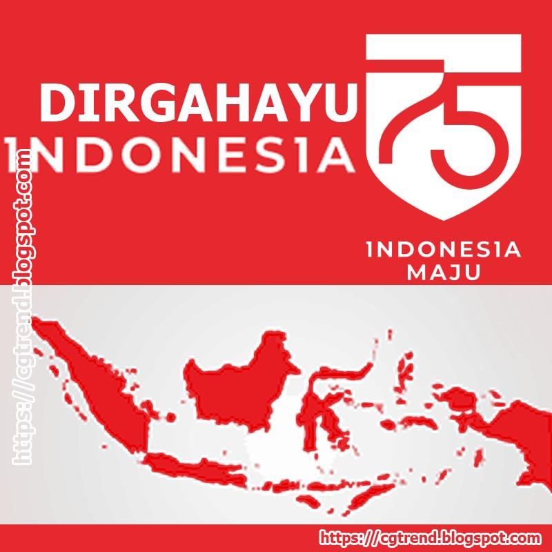 DIRGAHAYU KEMERDEKAAN REPUBLIK INDONESIA KE 75 TANGGAL 17 AGUSTUS 2020