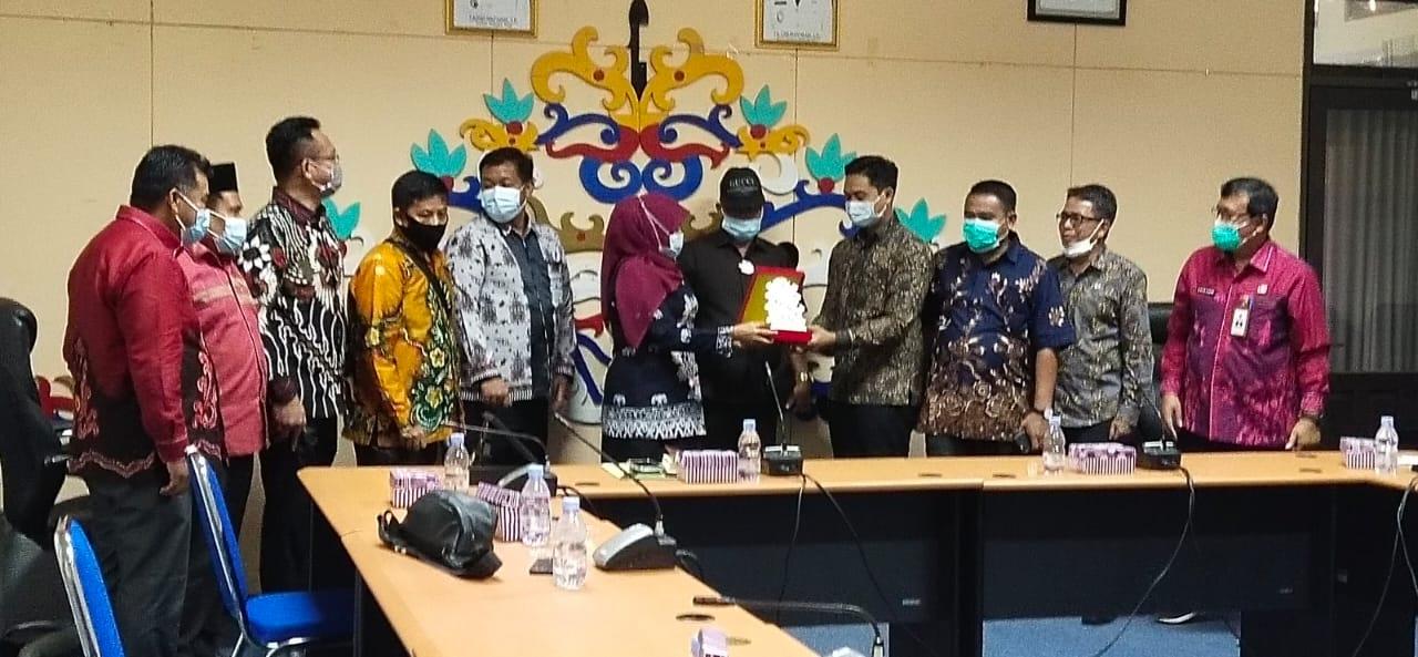 Kunjungan Kerja Komisi III DPRD Kab. Tanah Bumbu, Kalimantan Selatan ke Bappedalitbang Kota Palangka Raya