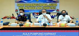 RAPAT KOORDINASI INOVASI DAERAH  KOTA PALANGKA RAYA TAHUN 2021