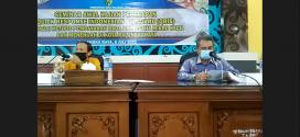 SEMINAR AWAL KAJIAN DIGITALISASI PEMBAYARAN MELALUI QR CODE INDONESIAN STANDARD (QRIS) BAGI UMKM DI KOTA PALANGKA RAYA TAHUN ANGGARAN 2021