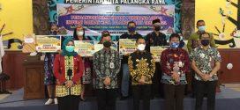 PENGANUGERAHAN HADIAH PEMENANG LOMBA INOVASI DAERAH KOTA PALANGKA RAYA TAHUN 2021
