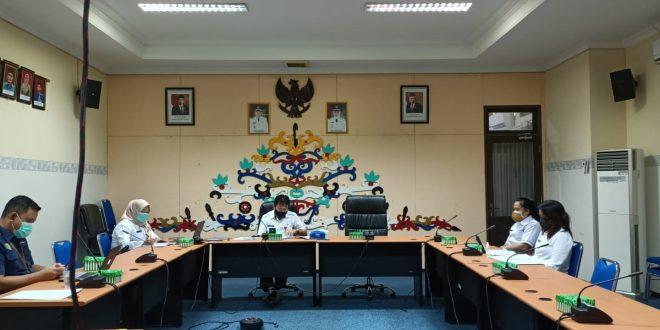 RAPAT PLENO PENETAPAN PEMENANG LOMBA INOVASI DAERAH  KOTA PALANGKA RAYA TAHUN 2021